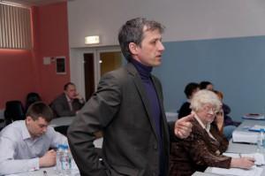 А.Демидов, предложивший резолюцию в защиту медиков